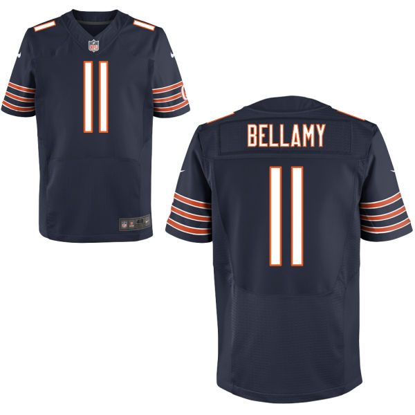 Joshua Bellamy Nike Chicago Bears Elite Navy Blue Jersey