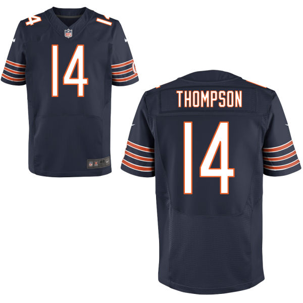 Deonte Thompson Nike Chicago Bears Elite Navy Blue Jersey