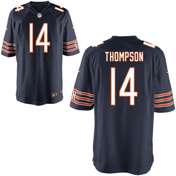 Deonte Thompson Nike Chicago Bears Game Navy Jersey