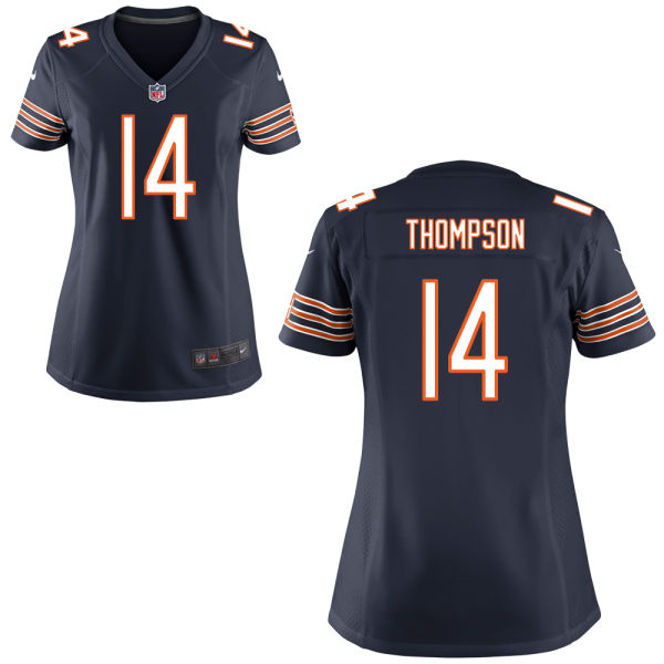 Deonte Thompson Women's Nike Chicago Bears Game Navy Blue Jersey