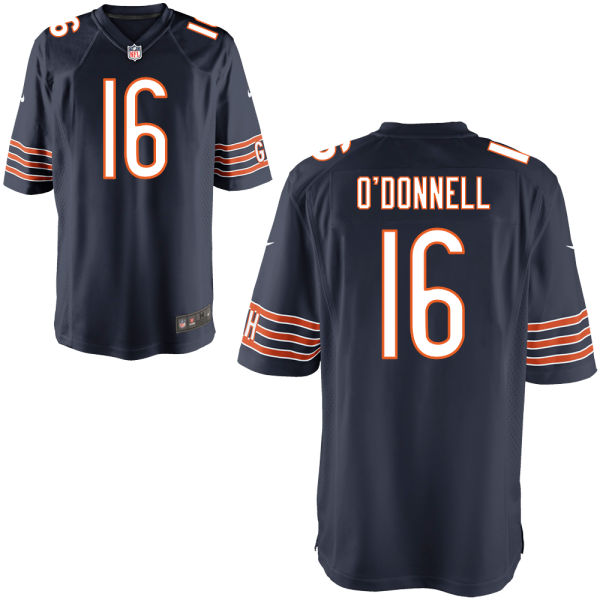 Pat O'donnell Nike Chicago Bears Game Navy Jersey