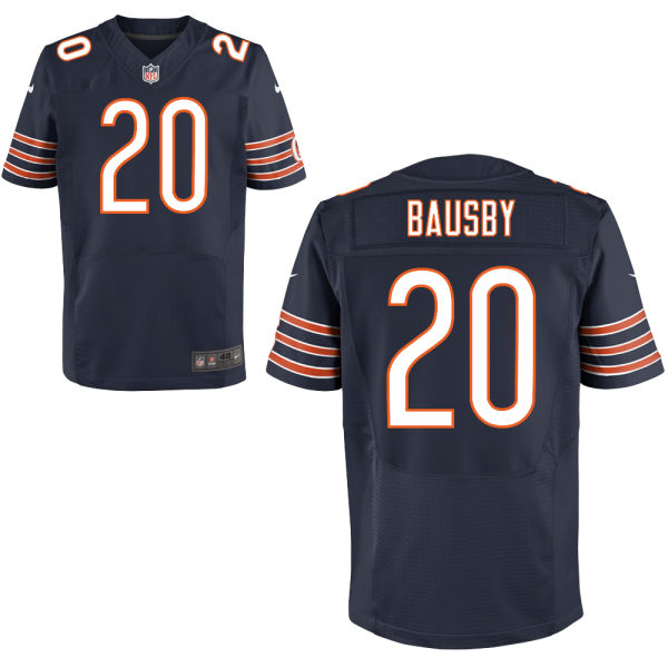 De'vante Bausby Nike Chicago Bears Elite Navy Blue Jersey