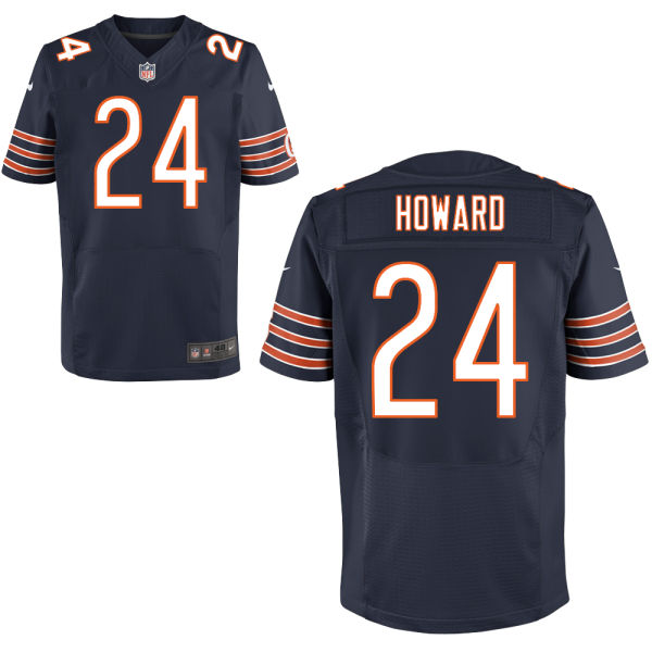 Jordan Howard Nike Chicago Bears Elite Navy Blue Jersey