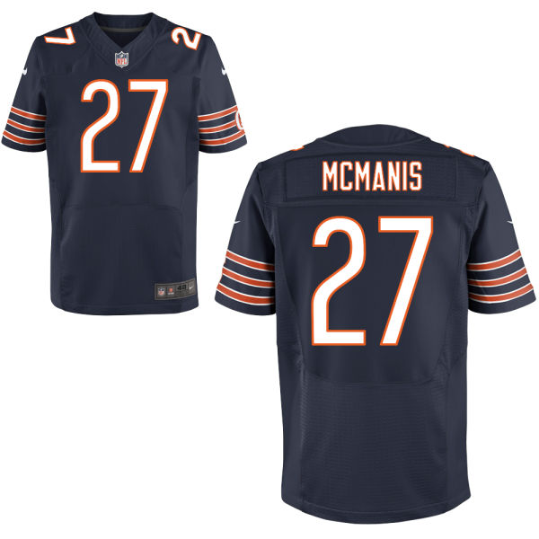 Sherrick Mcmanis Nike Chicago Bears Elite Navy Blue Jersey