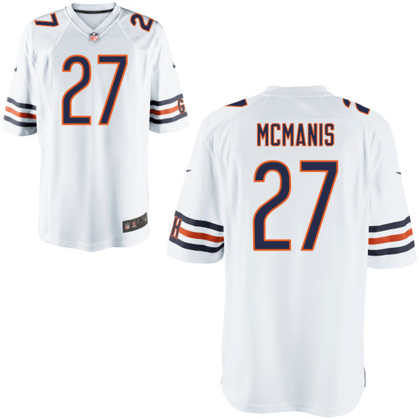 Sherrick Mcmanis Nike Chicago Bears Game White Jersey