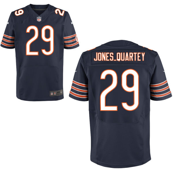 Harold Jones-quartey Nike Chicago Bears Elite Navy Blue Jersey