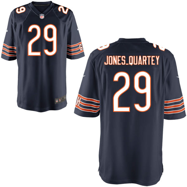 Harold Jones-quartey Nike Chicago Bears Game Navy Jersey