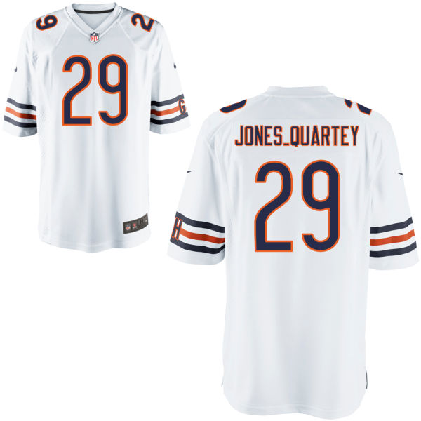 Harold Jones-quartey Nike Chicago Bears Game White Jersey