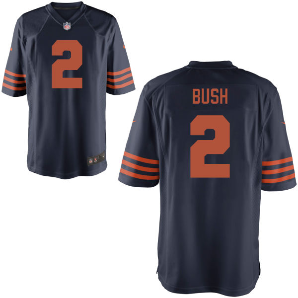 Deon Bush Nike Chicago Bears Game Alternate Jersey