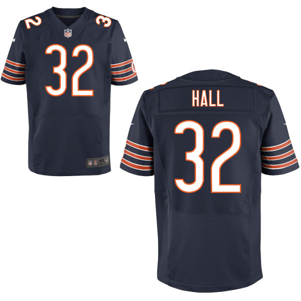 Deiondre' Hall Nike Chicago Bears Elite Navy Blue Jersey