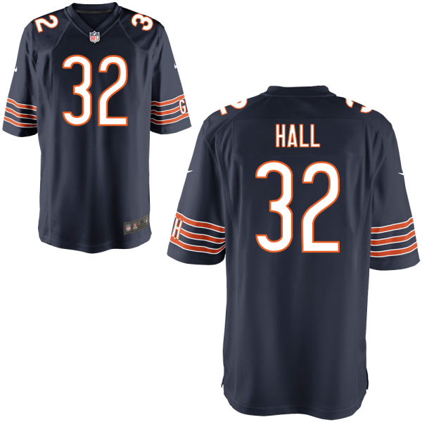 Deiondre' Hall Nike Chicago Bears Game Navy Jersey