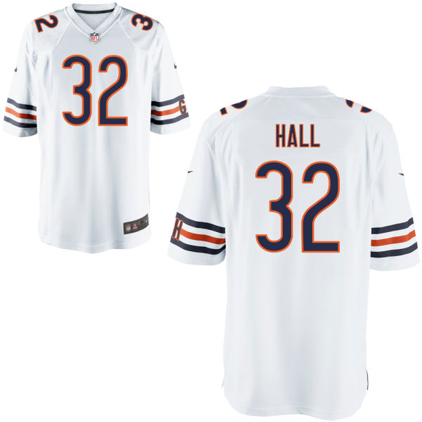 Deiondre' Hall Nike Chicago Bears Limited White Jersey