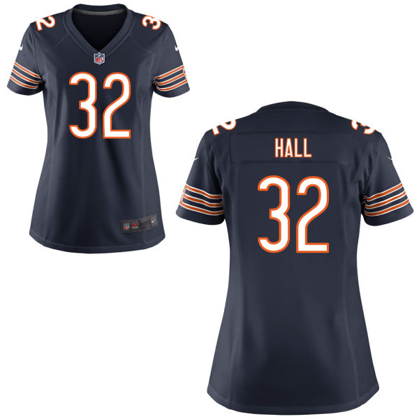 Deiondre' Hall Women's Nike Chicago Bears Game Navy Blue Jersey