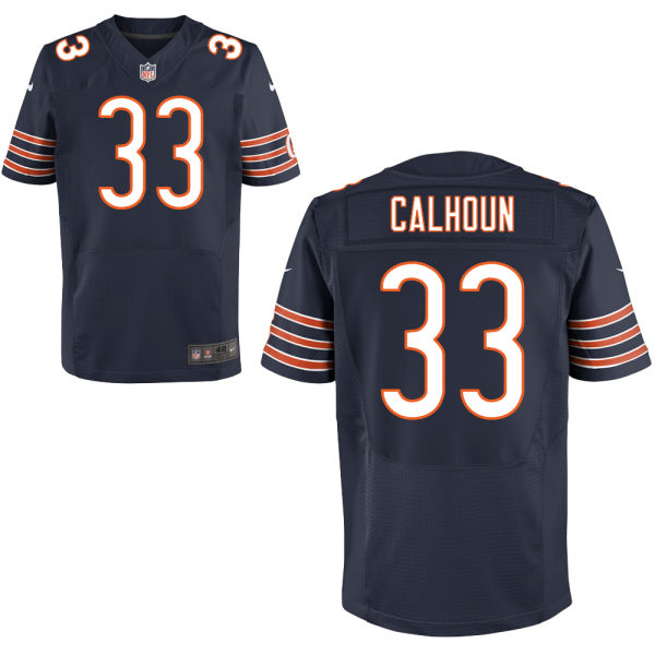 Taveze Calhoun Nike Chicago Bears Elite Navy Blue Jersey