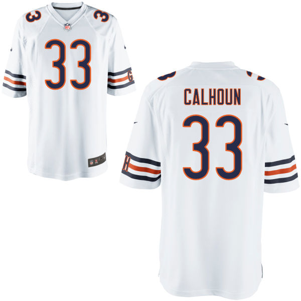 Taveze Calhoun Nike Chicago Bears Game White Jersey