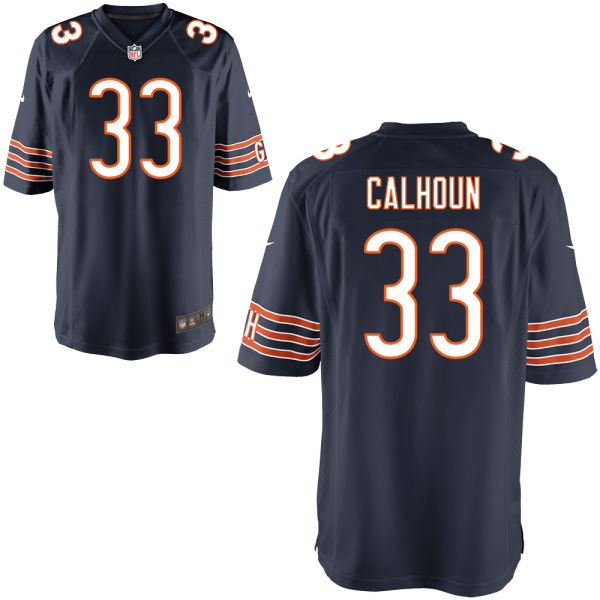 Taveze Calhoun Youth Nike Chicago Bears Game Navy Jersey