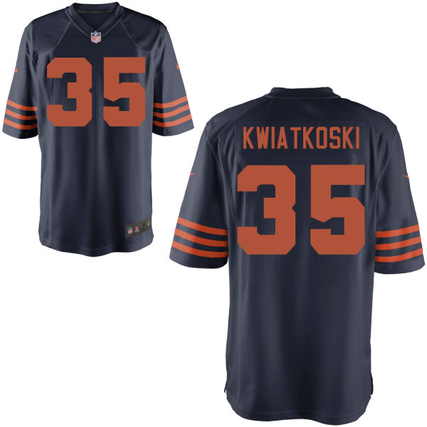 Nick Kwiatkoski Nike Chicago Bears Game Alternate Jersey
