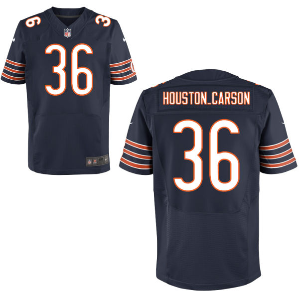 Deandre Houston-carson Nike Chicago Bears Elite Navy Blue Jersey