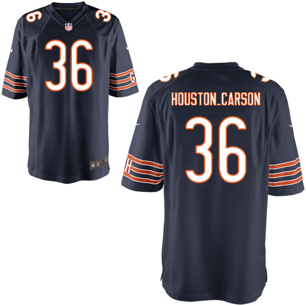 Deandre Houston-carson Nike Chicago Bears Game Navy Jersey