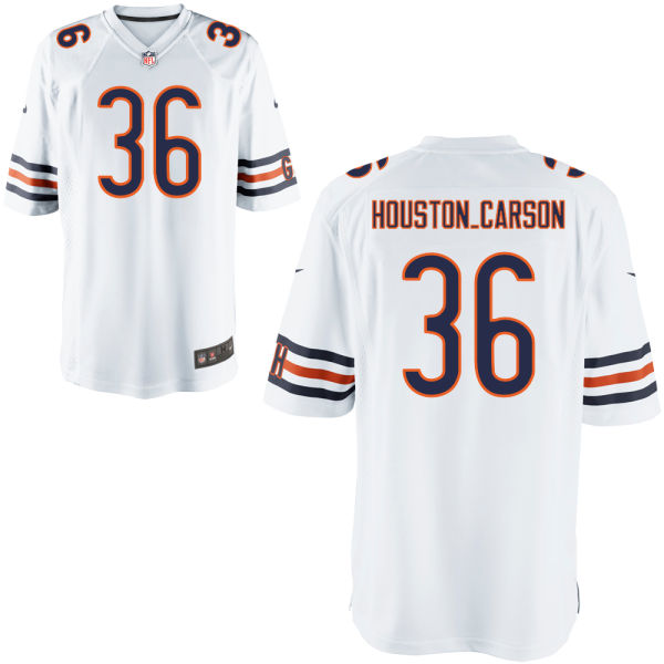 Deandre Houston-carson Nike Chicago Bears Game White Jersey