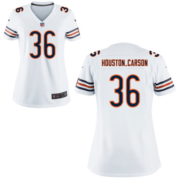 Deandre Houston-carson Women's Nike Chicago Bears Game White Jersey