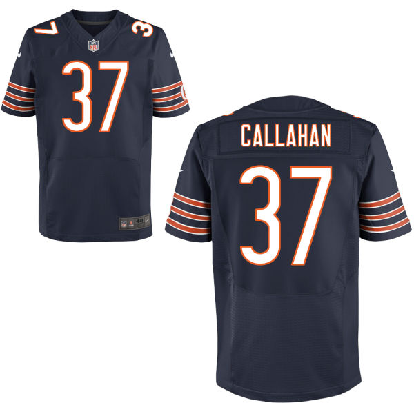 Bryce Callahan Nike Chicago Bears Elite Navy Blue Jersey