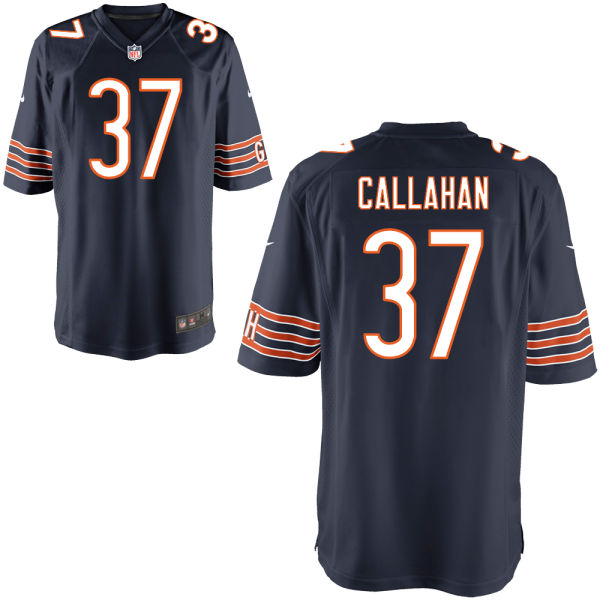 Bryce Callahan Nike Chicago Bears Game Navy Jersey