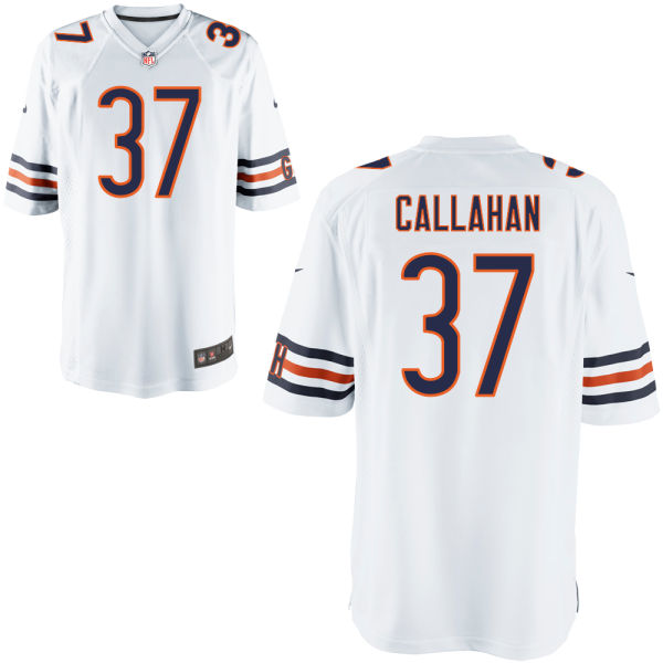 Bryce Callahan Nike Chicago Bears Game White Jersey