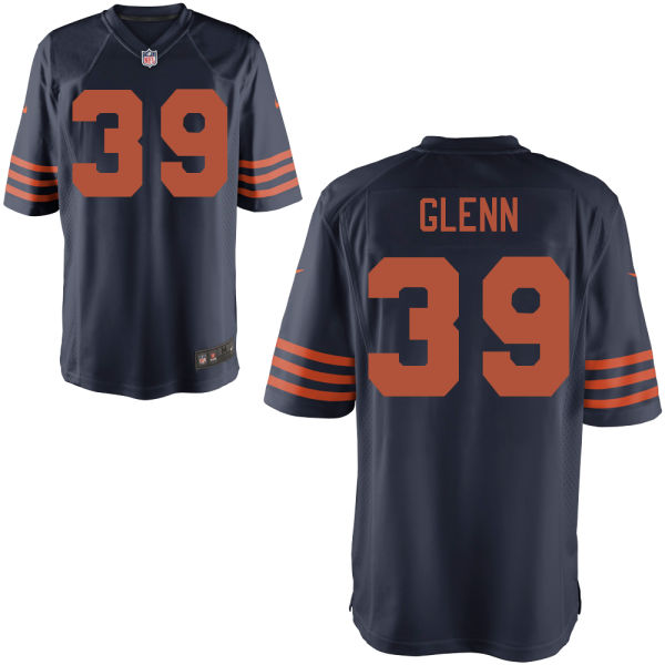 Jacoby Glenn Nike Chicago Bears Game Alternate Jersey