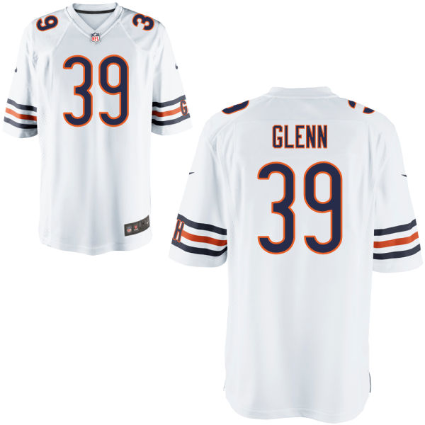 Jacoby Glenn Nike Chicago Bears Limited White Jersey
