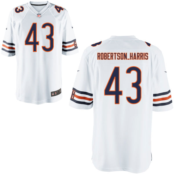 Roy Robertson-harris Nike Chicago Bears Limited White Jersey