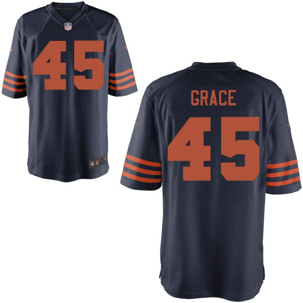 Jarrett Grace Nike Chicago Bears Game Alternate Jersey