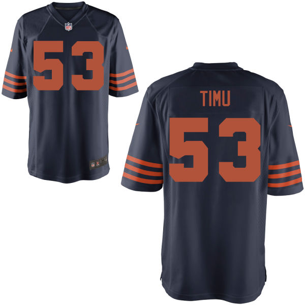 John Timu Youth Nike Chicago Bears Game Alternate Jersey