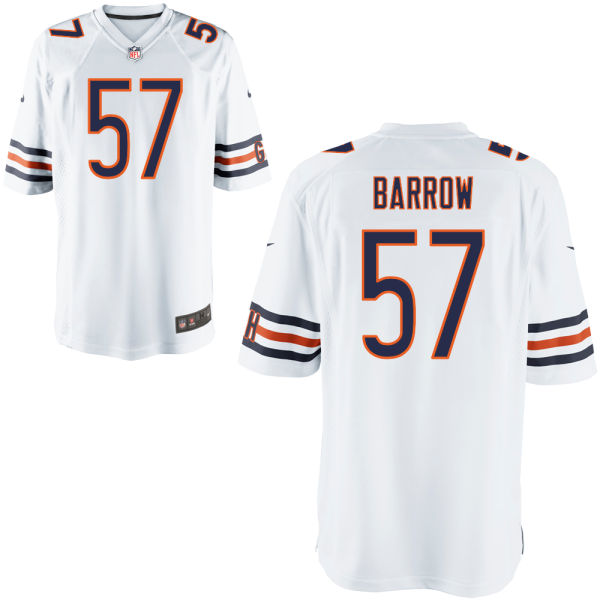 Lamin Barrow Nike Chicago Bears Game White Jersey