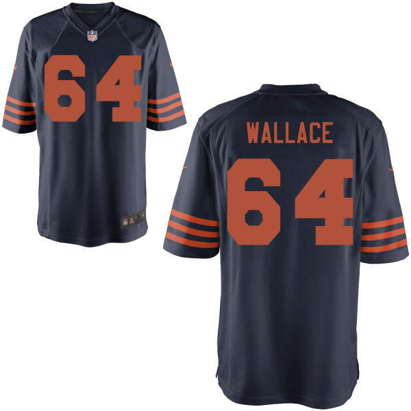 Martin Wallace Nike Chicago Bears Limited Alternate Jersey