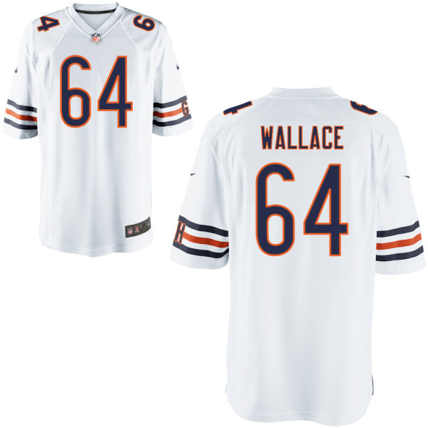 Martin Wallace Nike Chicago Bears Game White Jersey