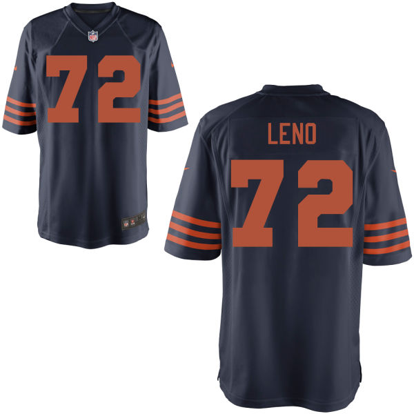 Charles Leno Nike Chicago Bears Game Alternate Jersey