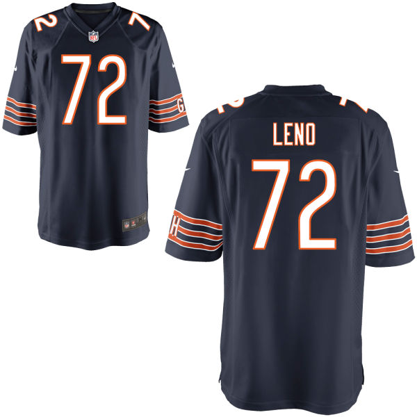 Charles Leno Nike Chicago Bears Game Navy Jersey