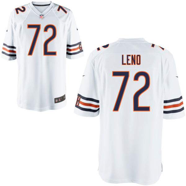 Charles Leno Nike Chicago Bears Game White Jersey