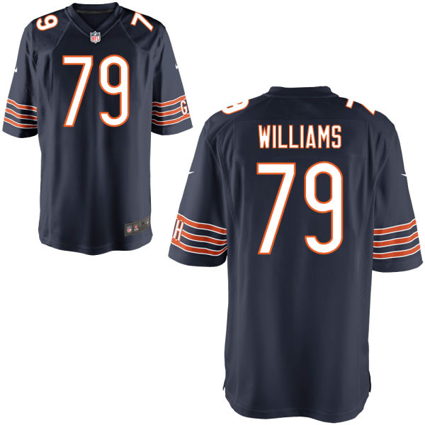 Terry Williams Nike Chicago Bears Game Navy Jersey