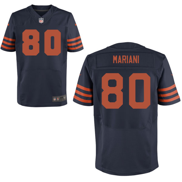Marc Mariani Nike Chicago Bears Elite Navy Blue Alternate Jersey