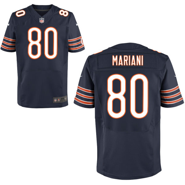 Marc Mariani Nike Chicago Bears Elite Navy Blue Jersey
