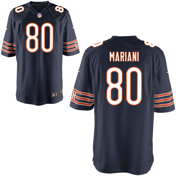 Marc Mariani Nike Chicago Bears Game Navy Jersey