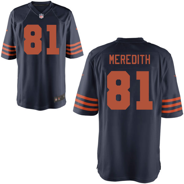 Cameron Meredith Nike Chicago Bears Game Alternate Jersey