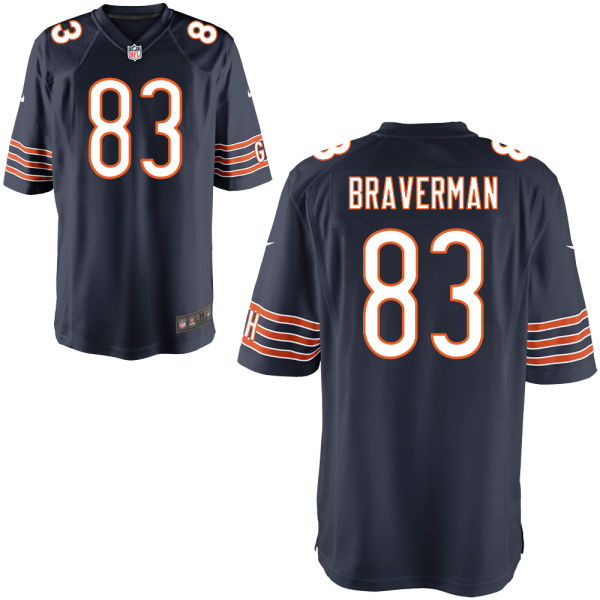 Daniel Braverman Nike Chicago Bears Limited Navy Jersey