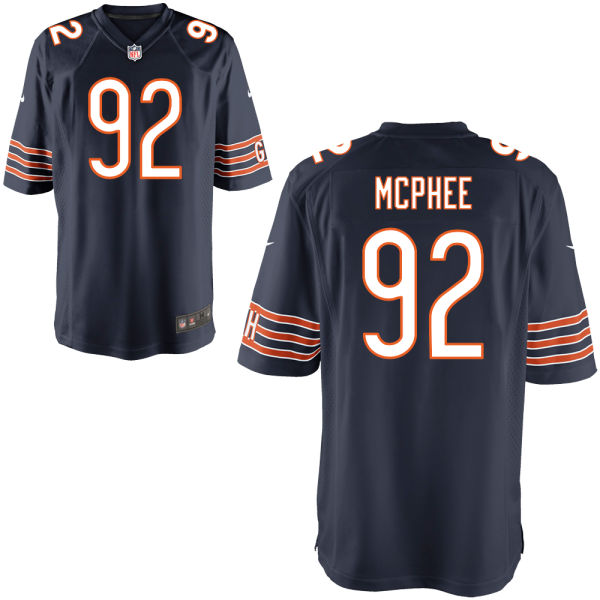 Pernell Mcphee Nike Chicago Bears Game Navy Jersey