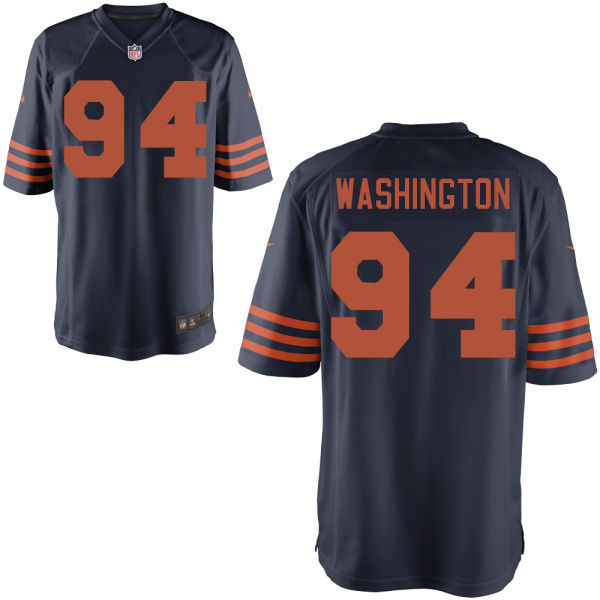 Cornelius Washington Nike Chicago Bears Limited Alternate Jersey