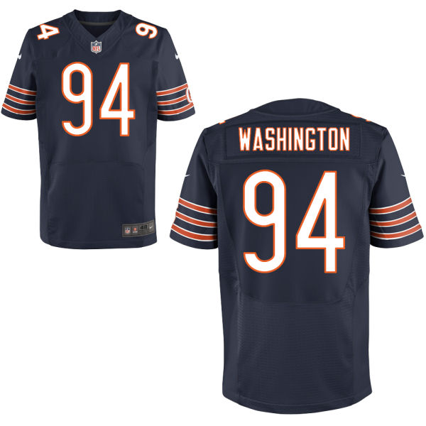 Cornelius Washington Nike Chicago Bears Elite Navy Blue Jersey