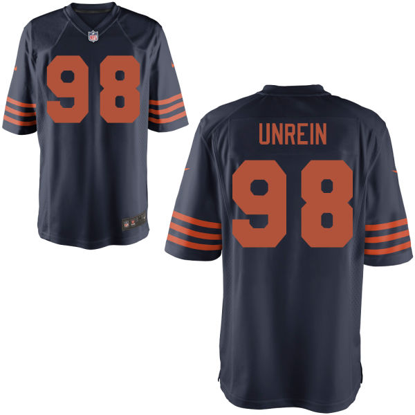 Mitch Unrein Nike Chicago Bears Game Alternate Jersey