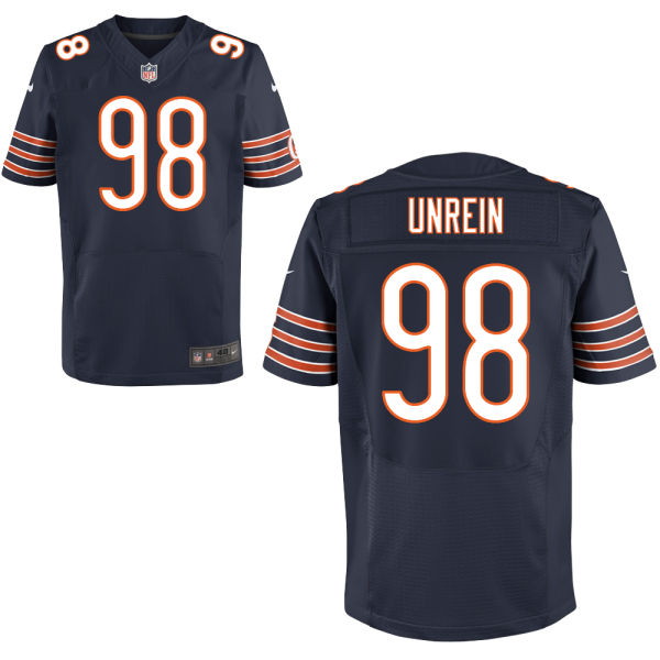 Mitch Unrein Nike Chicago Bears Elite Navy Blue Jersey